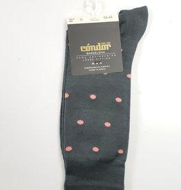 Condor Condor Mens Mini Polka Dots Socks
