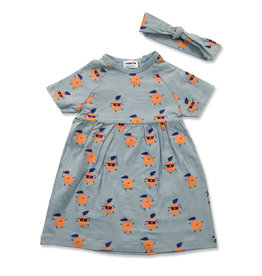 Pronto Pronto Oranges Dress (comes with hairband)