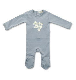 FRAGILE Fragile Baby Girl/Baby Boy Footie