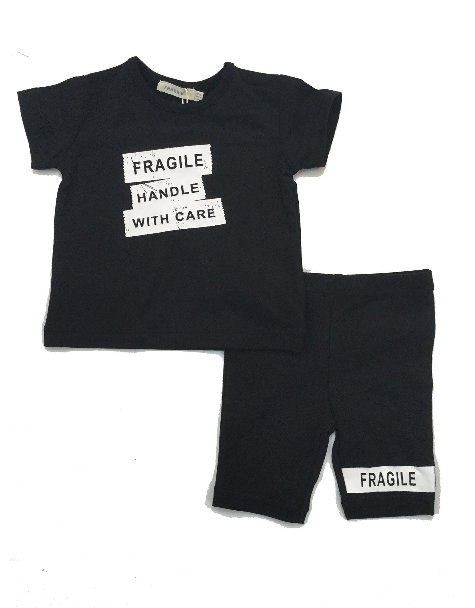 FRAGILE Fragile Fragile Handle With Care 2 Piece Set