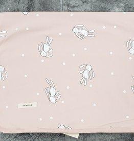 FRAGILE Fragile Bunny Doll Print Blanket