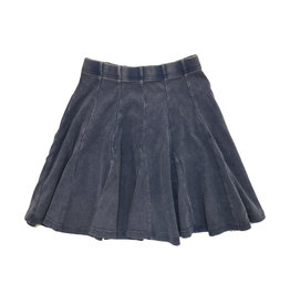 FIVE STAR Five Star Ribbed Panel Skirt