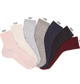 Condor Condor Lurex Ribbed Sock
