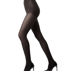 Memoi Memoi Diamond Argyle Opaque Tights