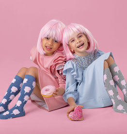 Blinq Blinq Cotton Candy Knee Sock