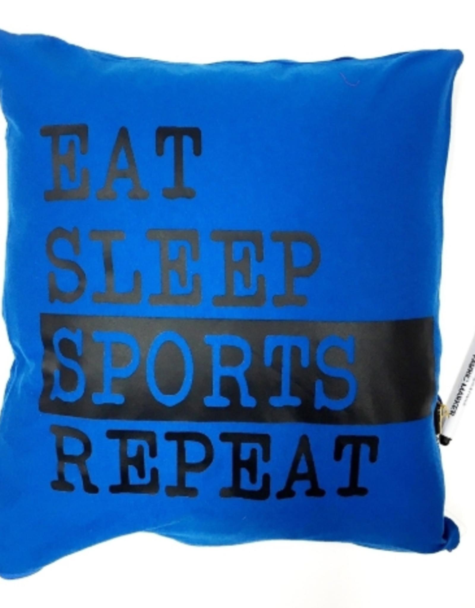 Bunk Junk Boy Eat Sleep Sport Autograph Pillow