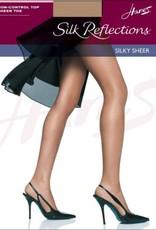 Hanes Silk Reflections 6 Pack Sheer Toe Non CT