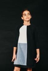 Miss Meme Miss Meme Colorblock Aline Dress