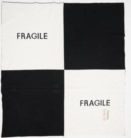 FRAGILE Fragile Knit Colorblock 'FRAGILE' Baby Blanket