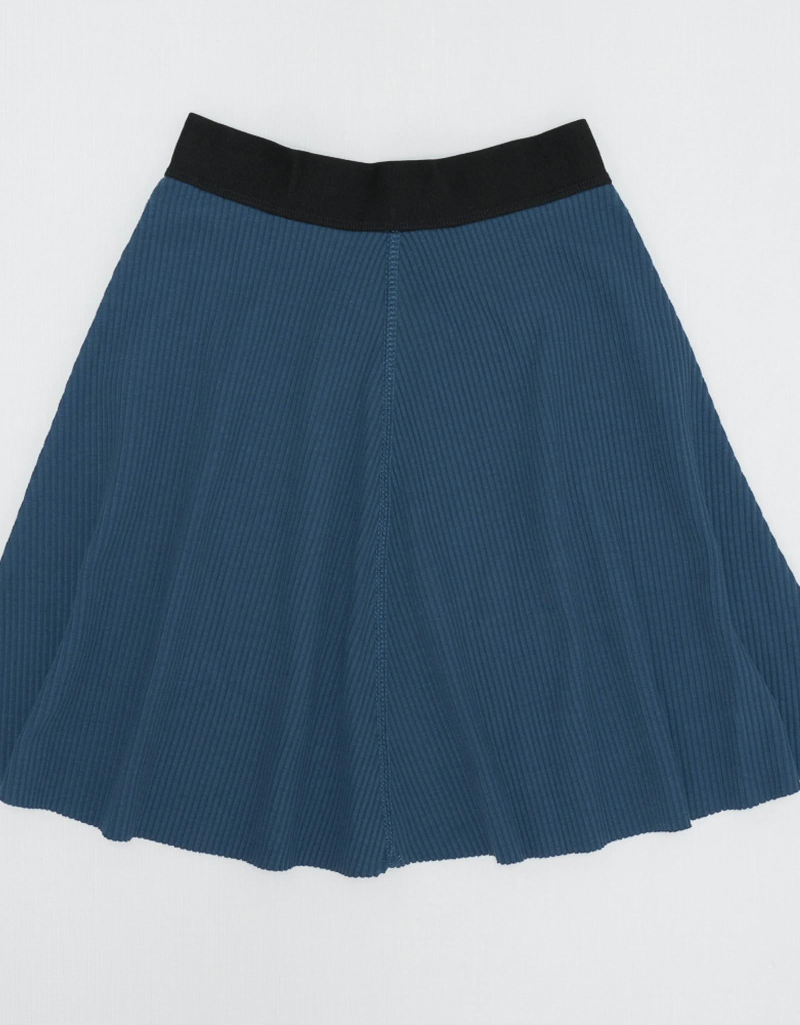 FYI Girls Flare Ribbed Skirt With Elastic Waistband