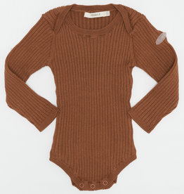 FRAGILE Fragile Ribbed Sweater Onesie