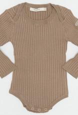 FRAGILE Fragile Ribbed Sweater Onesie