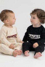 FRAGILE Fragile Knit Set with Fragile Box on Front