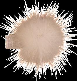 Dacee Dacee Mink Fur PomPom Small Clip