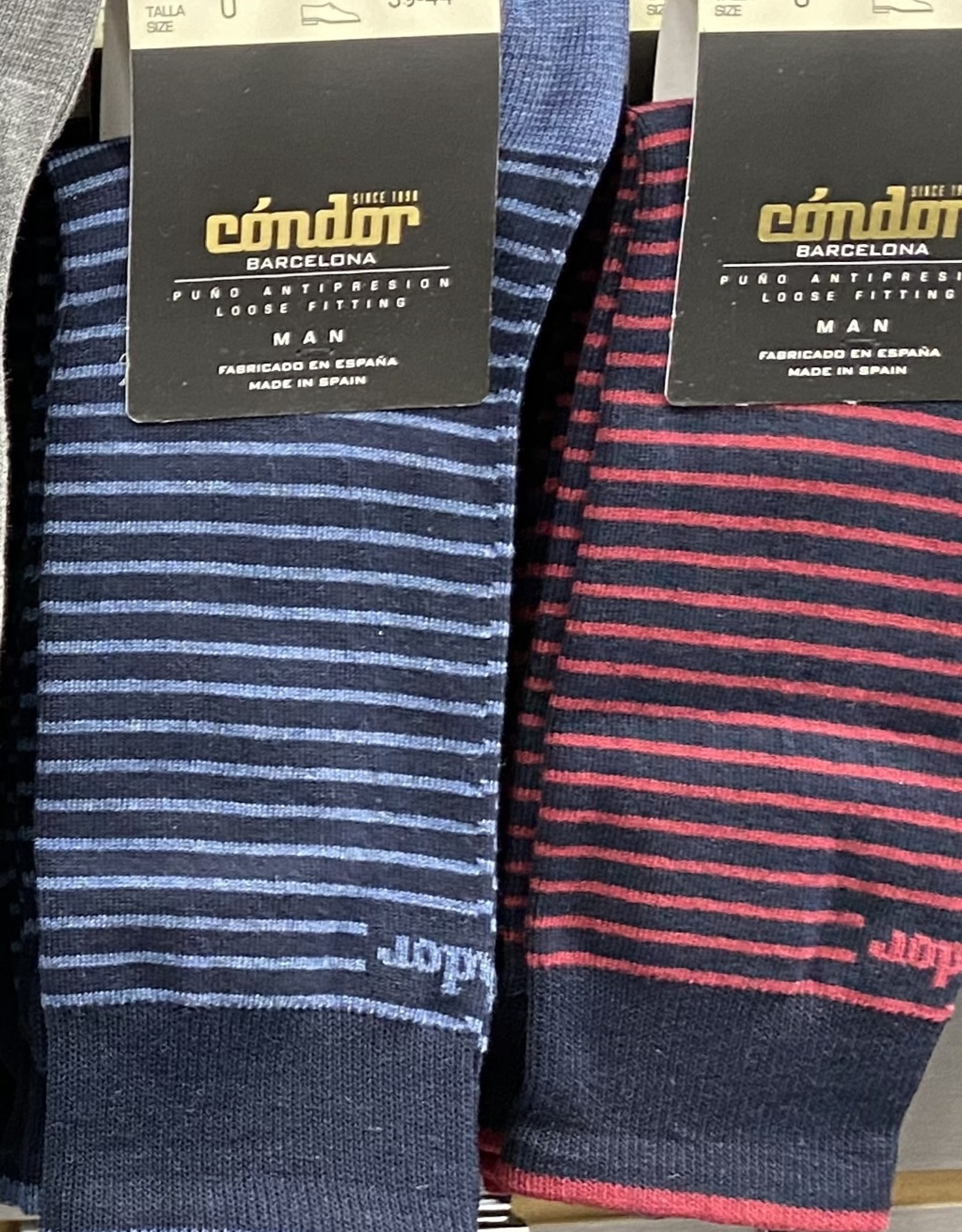 Condor Condor Mens Striped Sock