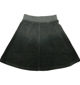 FIVE STAR Five Star Dip Dye Velour Flare Skirt