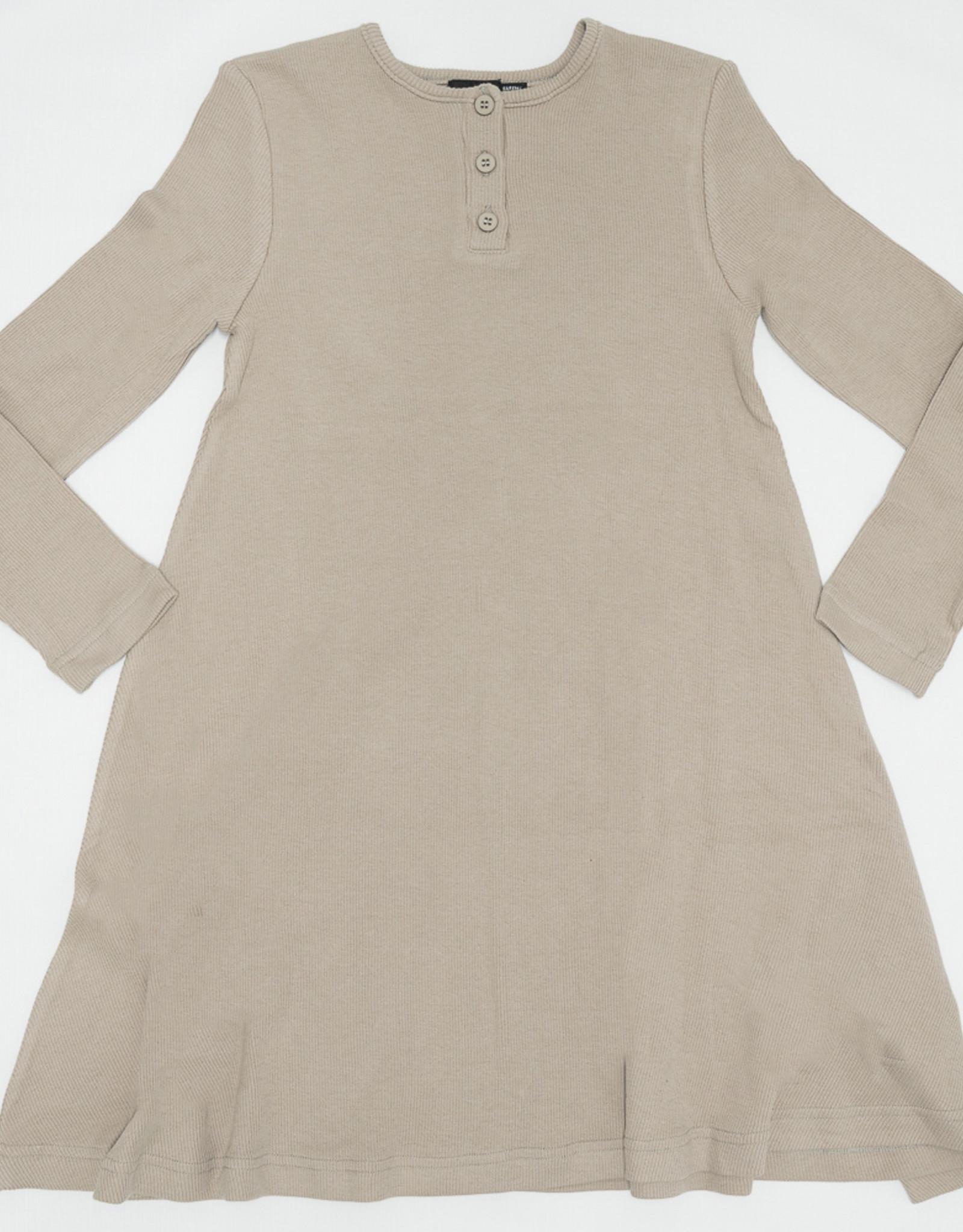 PeekABoo PeekABoo Soft Ribbed Dress