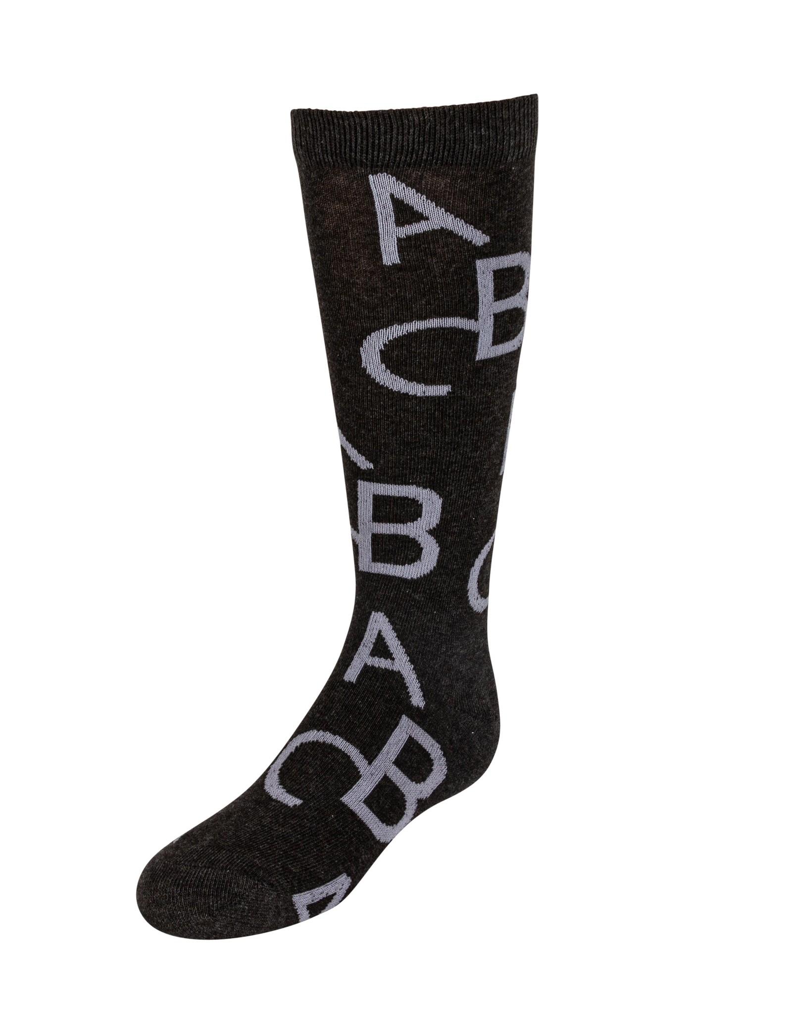 JRP JRP Alphabetic Knee Sock