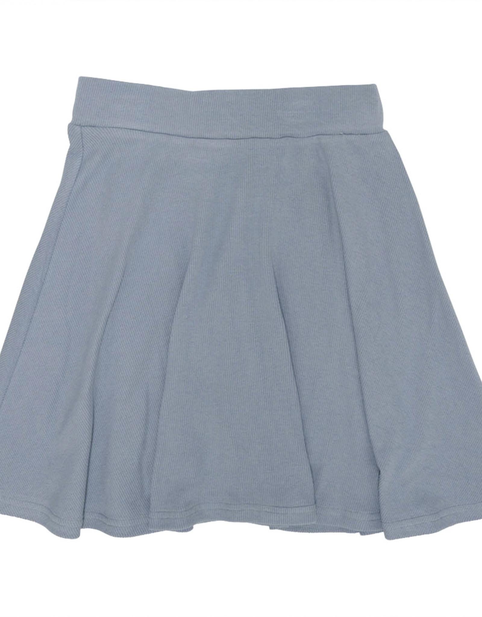 PeekABoo Peek A Boo Soft Ribbed Aline Skirt