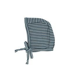 LIL LEGS FW20 Striped Rib Bonnet