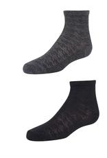 Zubii Zubii Houndstooth Texture Boys Sock
