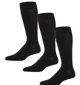 Memoi Memoi Mens 3 Pack Flat Sock