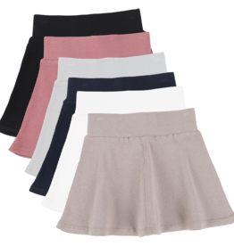 LIL LEGS LIL LEGS RIB SKIRT BASIC COLORS