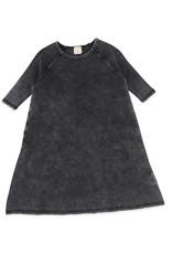 Analogie ANALOGIE 3/4 SLEEVE DENIM WASH DRESS