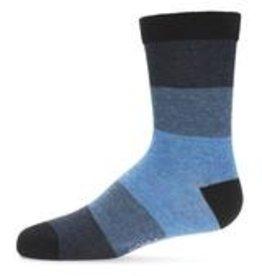 Memoi Memoi Ombre Stripe Boys Crew Sock