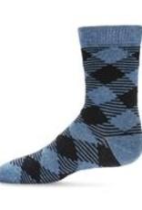 Memoi Memoi Argyle Boys Crew Sock