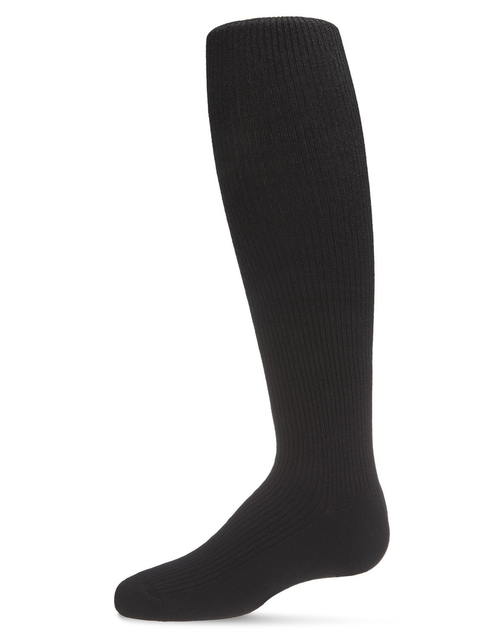 Memoi Memoi Thin Ribbed Cotton Tights