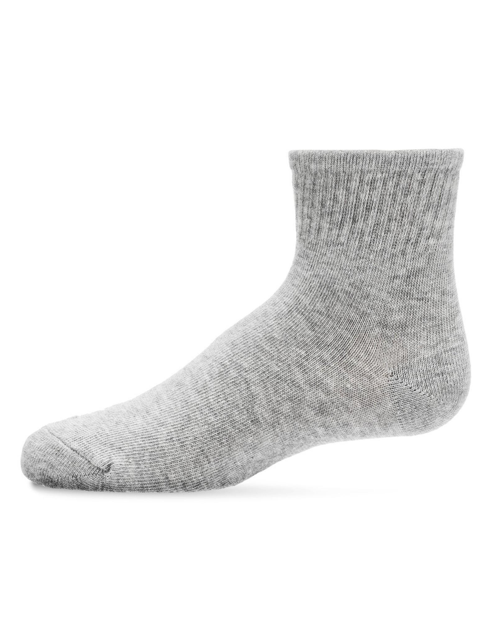 Memoi Memoi Ribbed Mid Cut Socks 3-Pack