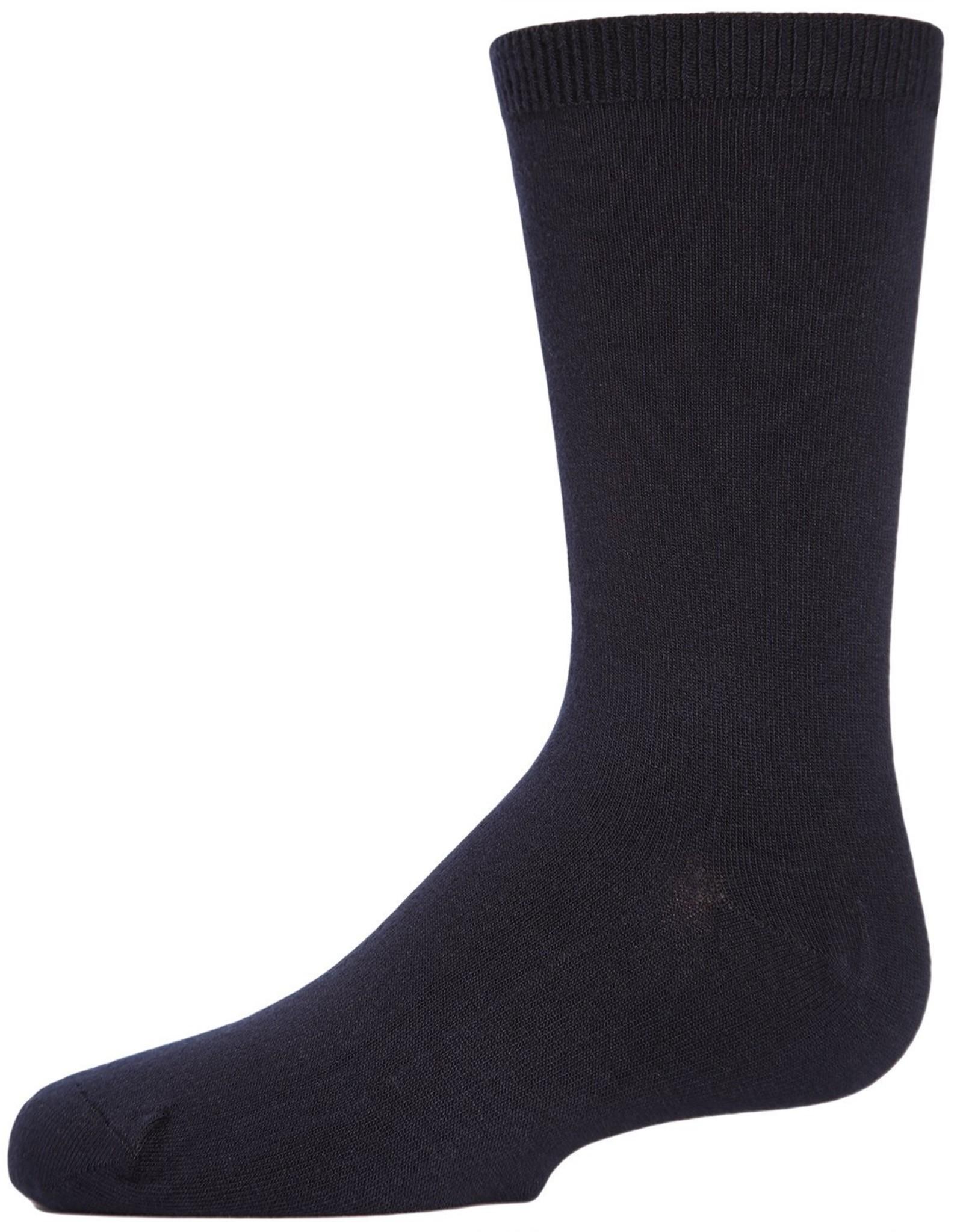 Memoi Memoi Modal Crew Sock
