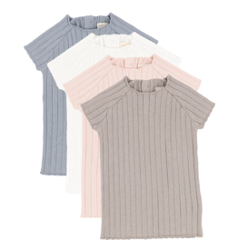 Analogie ANALOGIE SHORT SLEEVE KNIT SWEATER