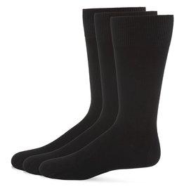 Memoi Memoi Mens Bamboo Flat Socks (3Pack)