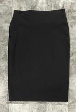 Elle Couture Elle Couture Ponte Pencil Skirt