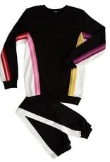 Noggi Noggi Colorblock Elastic Trim Pajama