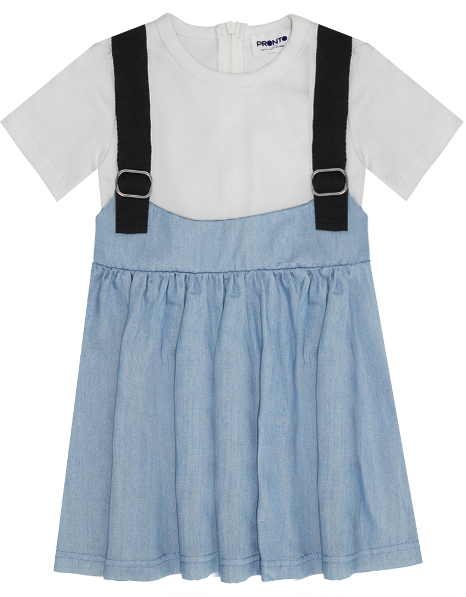 Pronto Pronto Overall Skirt with T-Shirt
