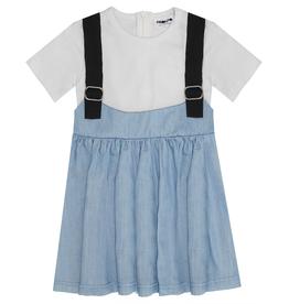 Pronto Pronto Overall Skirt with T-Shirt