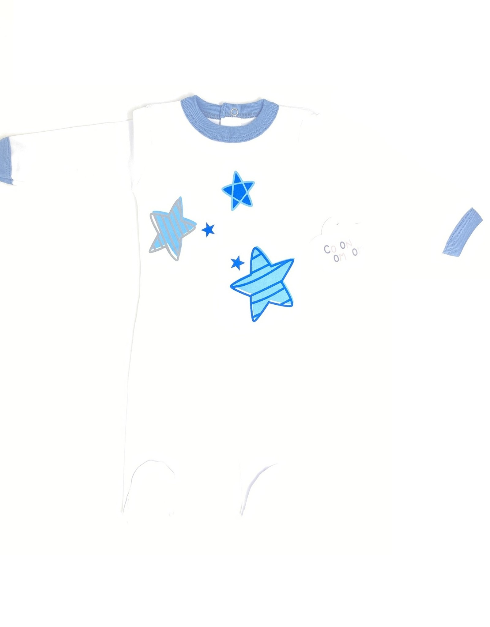 Coton PomPom Coton PomPom Heart/Star Doodles Footie
