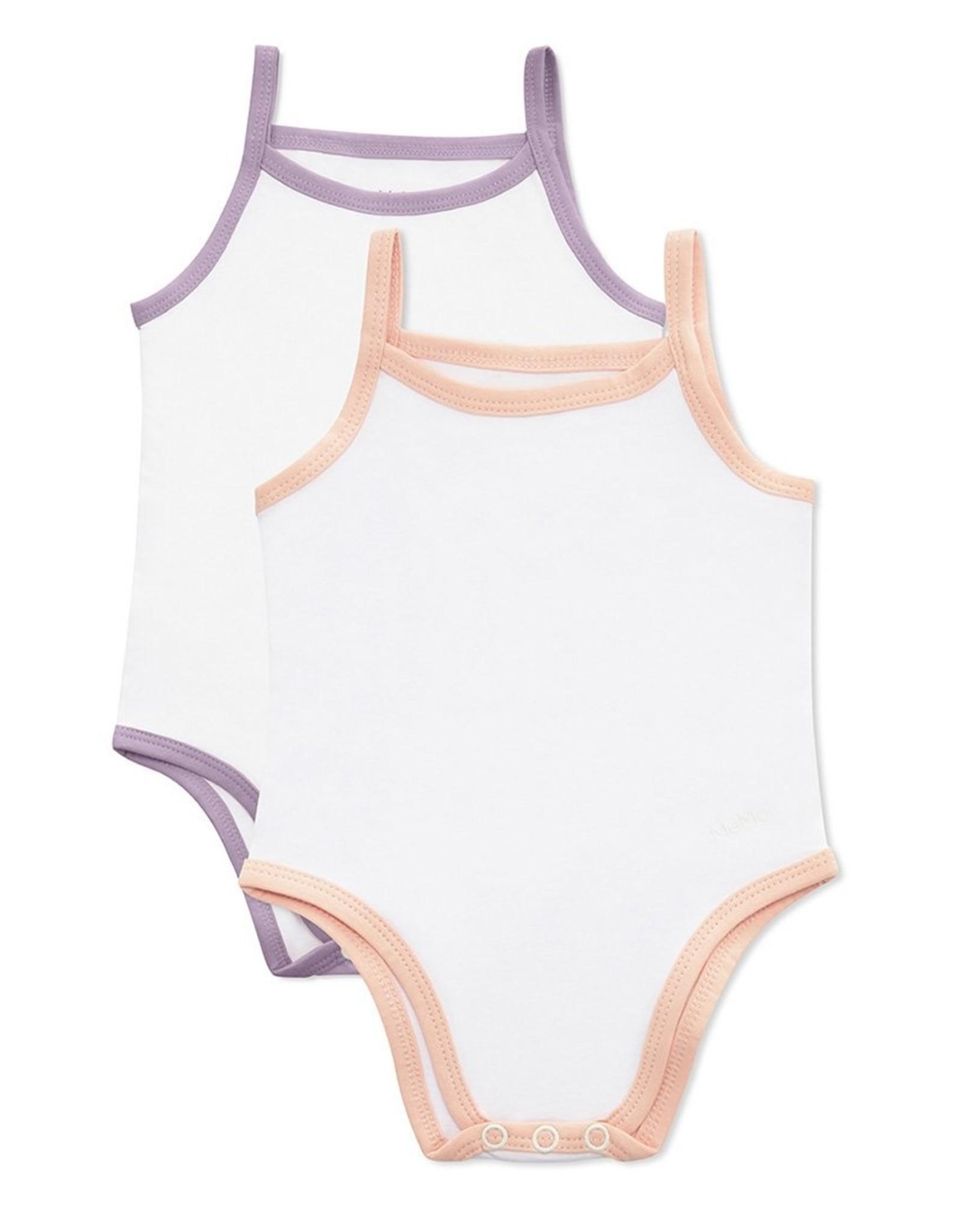 Memoi Memoi 2Pack Baby Bodysuits