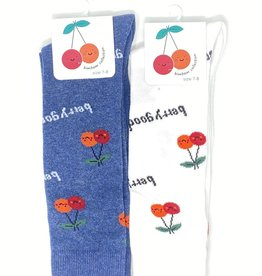 BimBam BimBam Cherry Knee Sock