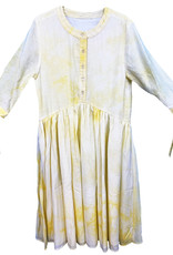 MeMe Teens MeMe Teens Tie Dye Button Front Dress with Bow at Elbow