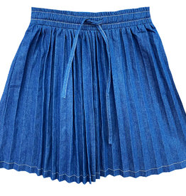 MeMe Basics MeMe Basics Pleated Denim Skirt