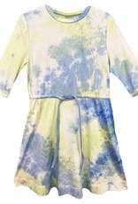 MeMe Basics MeMe Basics Tie Dye Dress with Drawstring Waist