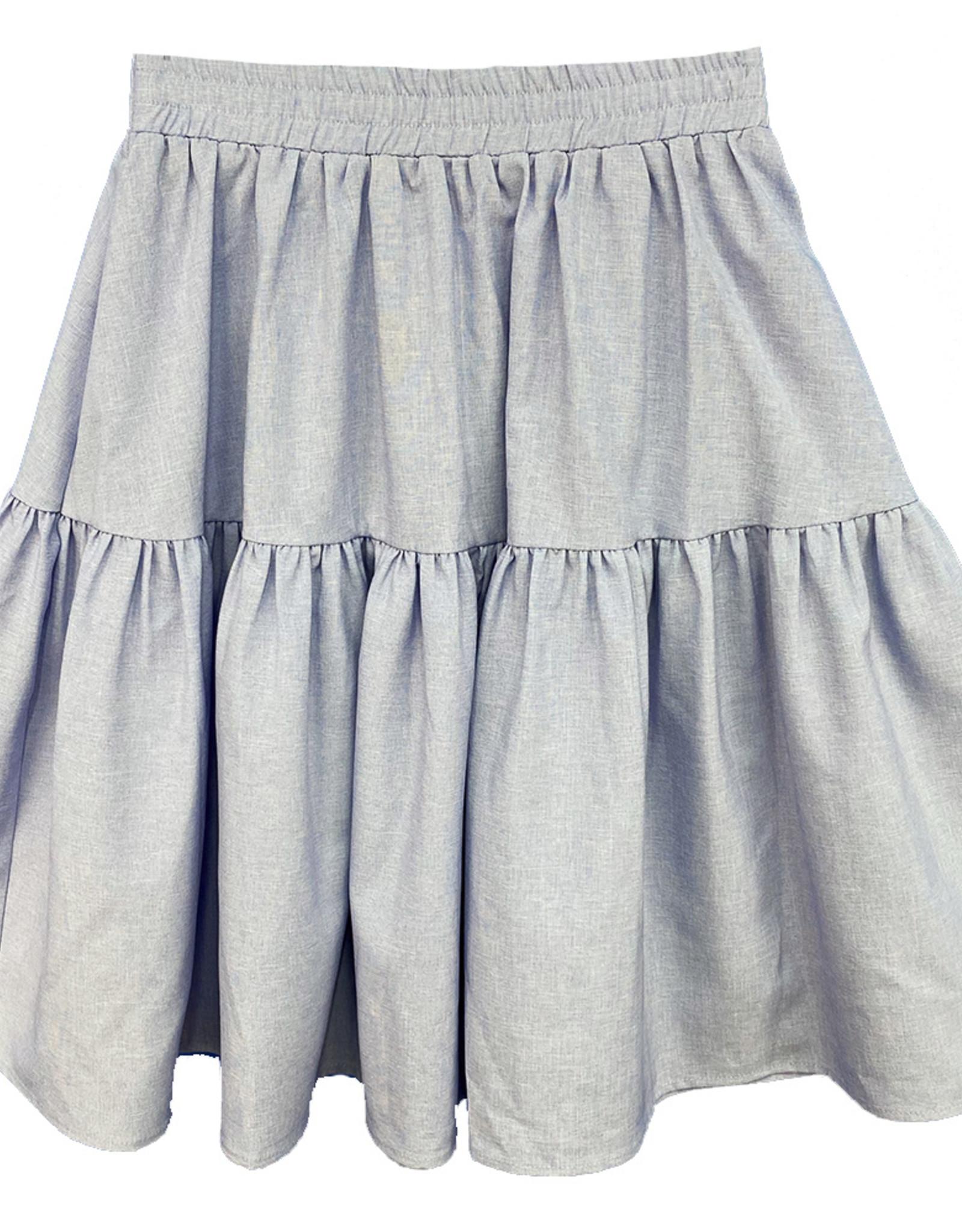 MeMe Basics MeMe Basics Tiered Skirt