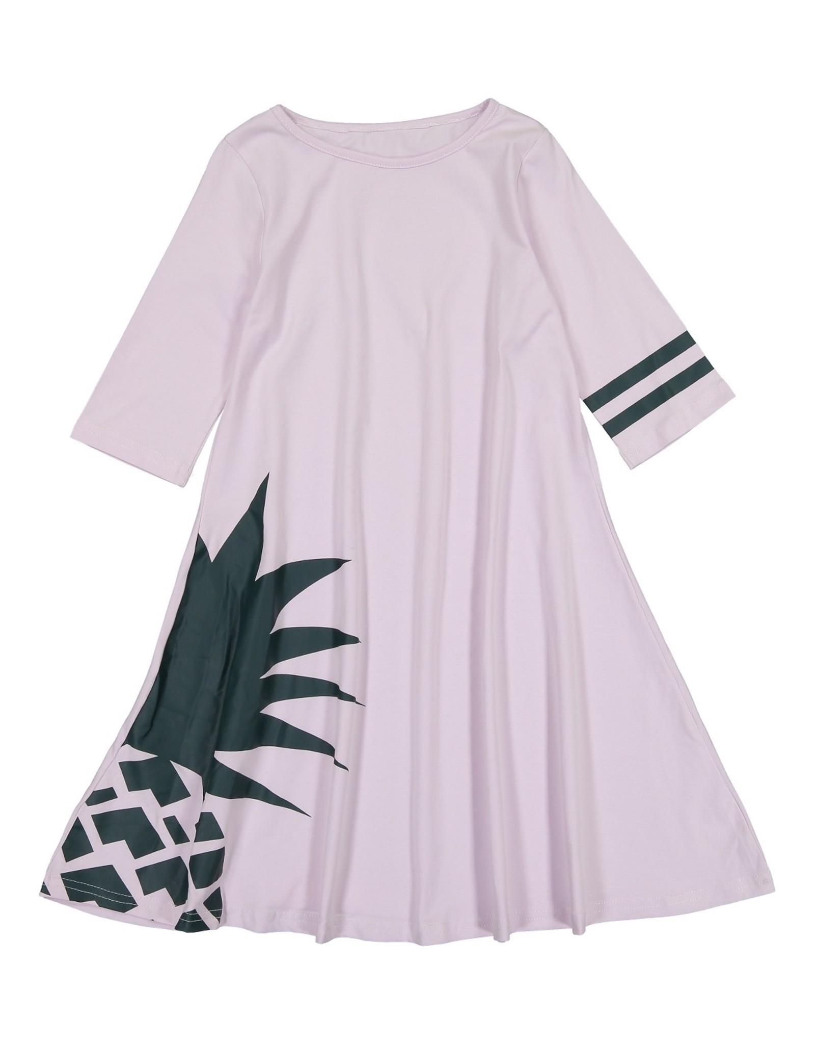Three Bows Three Bows Pineapple Print Dress