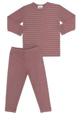 Pronto Pronto Ribbed with Shimmer Stripe Pajama