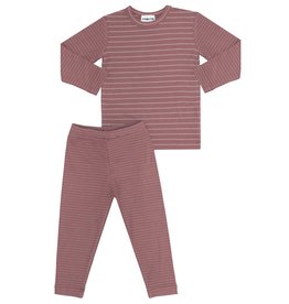 Pronto Pronto Ribbed with Shimmer Stripe Pajama