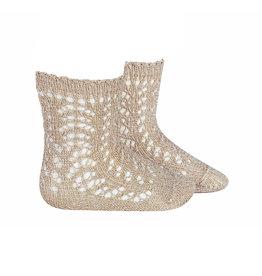 Condor Condor Shimmer Crochet Anklet